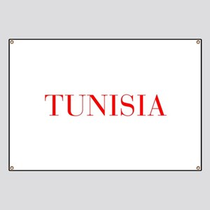 Tunisia-Bau red 400 Banner