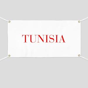 Tunisia-Bau red 400 Banner