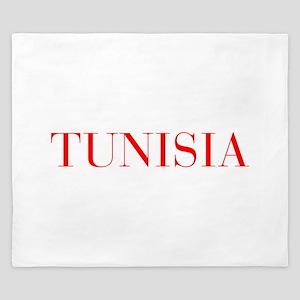 Tunisia-Bau red 400 King Duvet