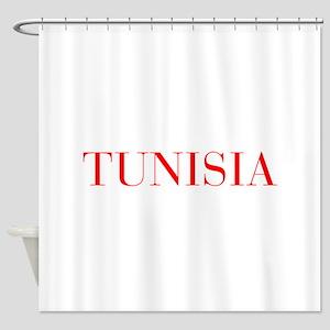 Tunisia-Bau red 400 Shower Curtain