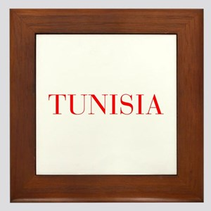 Tunisia-Bau red 400 Framed Tile