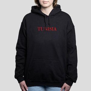 Tunisia-Bau red 400 Women's Hooded Sweatshirt
