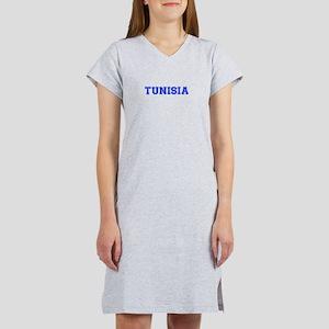 Tunisia-Var blue 400 Women's Nightshirt