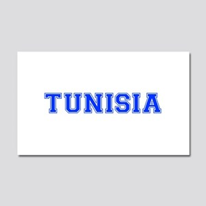 Tunisia-Var blue 400 Car Magnet 20 x 12