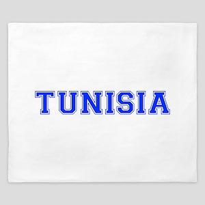 Tunisia-Var blue 400 King Duvet