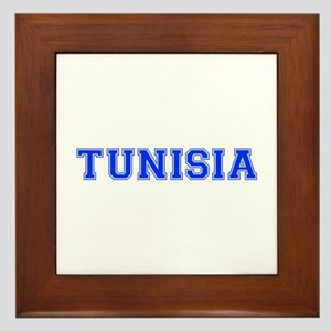 Tunisia-Var blue 400 Framed Tile