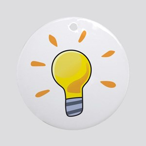 LIGHTBULB Ornament (Round)