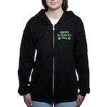 Happy St. Patrick's Day Women's Zip Hoodie