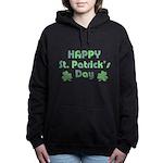 Happy St. Patrick's Day Women's Hooded Sweatshirt