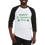 Happy St. Patrick's Day Baseball Jersey
