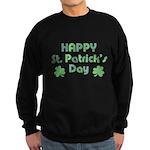 Happy St. Patrick's Day Sweatshirt (dark)