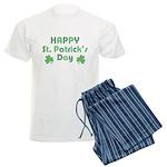 Happy St. Patrick's Day Men's Light Pajamas