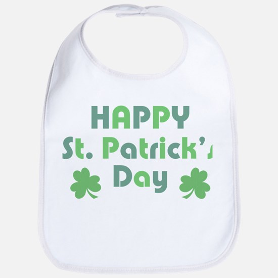 Happy St. Patrick's Day Bib