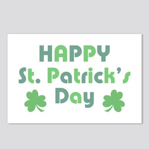 Happy St. Patrick's Day Postcards (Package of 8)