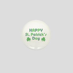 Happy St. Patrick's Day Mini Button
