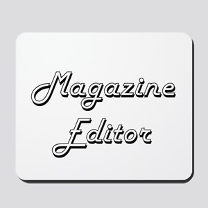Magazine Editor Classic Job Design Mousepad