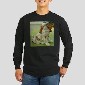Christmas King Charles Spaniel Long Sleeve T-Shirt