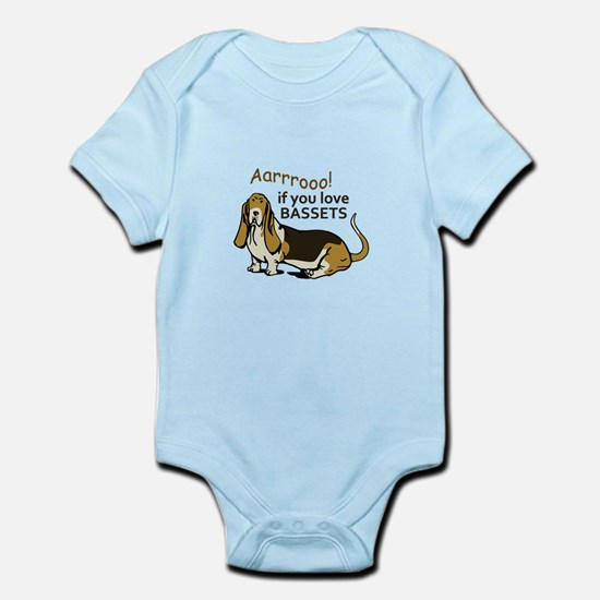 IF YOU LOVE BASSETS Body Suit