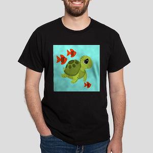 Sea Turtle Fish Ocean Swimmers T-Shirt