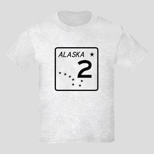 Route 2, Alaska Kids Light T-Shirt