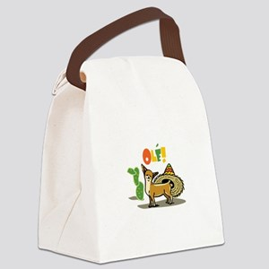 CHIHUAHUA OLE Canvas Lunch Bag
