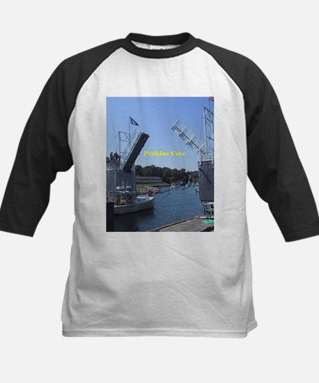 drawbridge in Perkins Cove, Maine Baseball Jersey