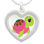 Pink Sea Turtle Necklaces