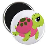 Pink Sea Turtle Magnets