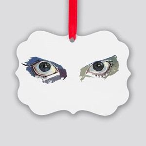 eyes Picture Ornament