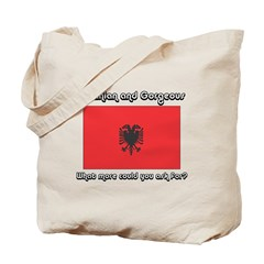 Albanian and Gorgeous (1) Tote Bag