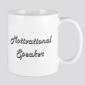 Motivational Speaker Classic Job Design Mugs