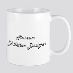 Museum Exhibition Designer Classic Job Design Mugs