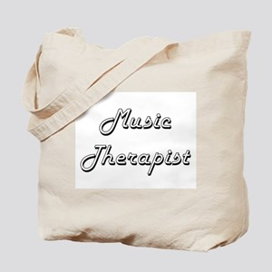 Music Therapist Classic Job Design Tote Bag