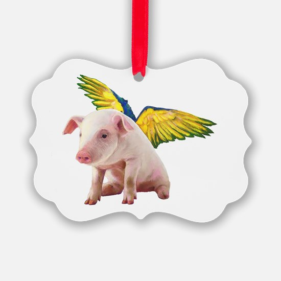 Pigs Fly Ornament