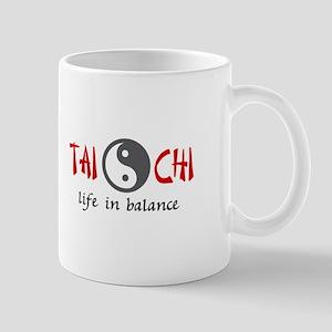 TAI CHI LIFE IN BALANCE Mugs