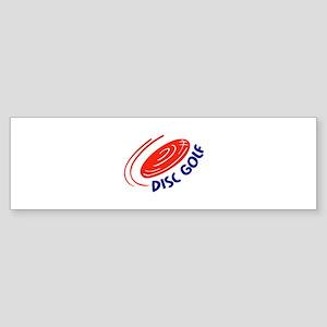 DISC GOLF Bumper Sticker