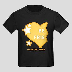 CUSTOM TEXT Best Friends (left h Kids Dark T-Shirt