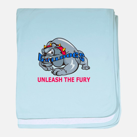 UNLEASH THE FURY baby blanket