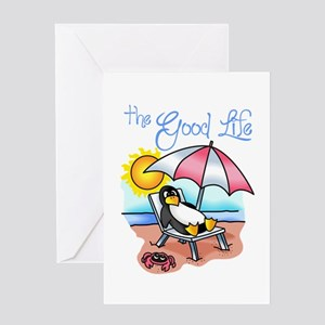 THE GOOD LIFE Greeting Cards