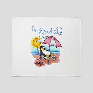 THE GOOD LIFE Throw Blanket