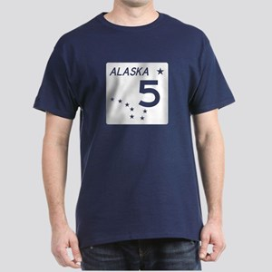 Route 5, Alaska Dark T-Shirt