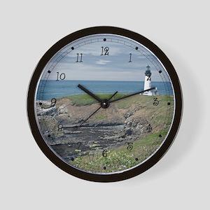 Yaquina Light Wall Clock