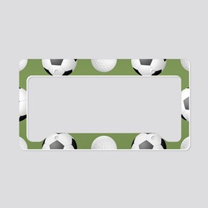 Sporting Confidence License Plate Holder