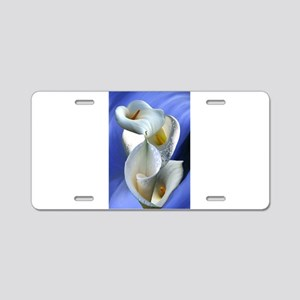 Calla Composition Aluminum License Plate