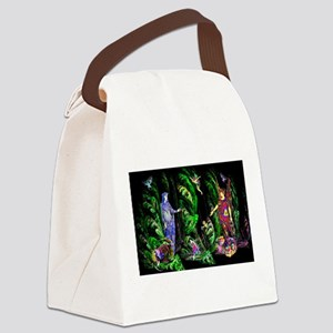 Faery Forest Canvas Lunch Bag
