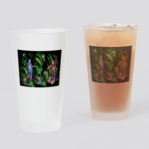 Faery Forest Drinking Glass