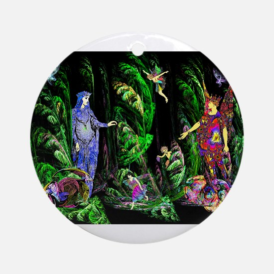 Faery Forest Ornament (Round)