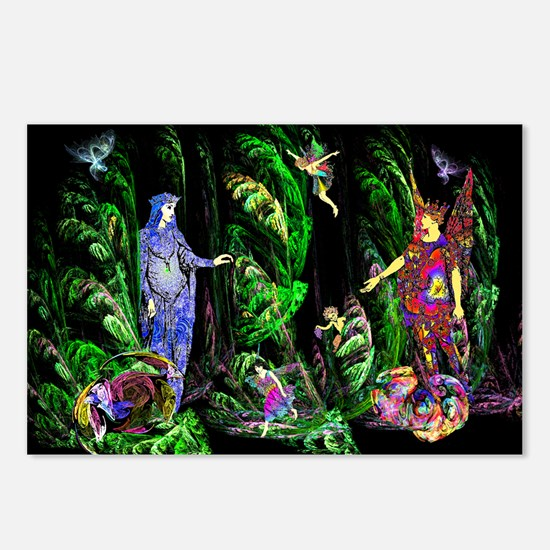 Faery Forest Postcards (Package of 8)