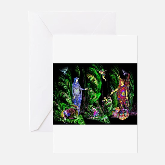 Faery Forest Greeting Cards