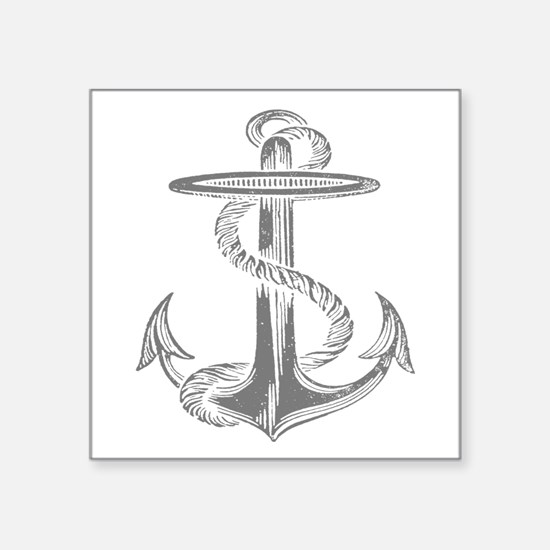 awesome vintage anchor Sticker